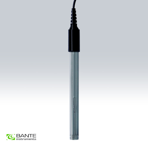 Genuine Brand BANTE Economy combination pH electrode sensor probe for semisolid samples BNC Flat surface sensitive