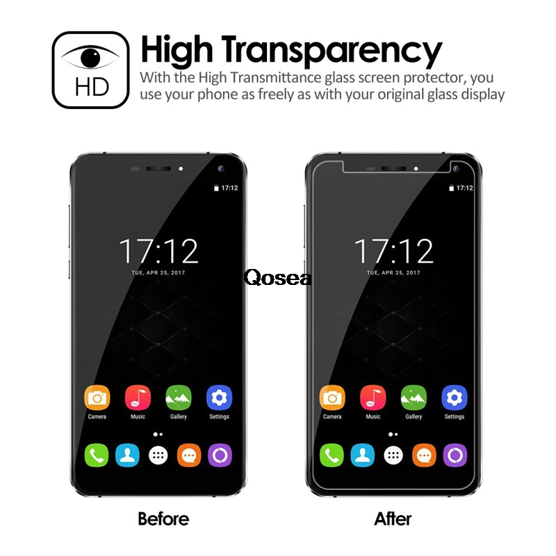 Tempered Glass For Oukitel U11 Plus 9H Ultra Clear Protective Film Explosion-proof Premium For Oukitel U11 Plus Screen Protector
