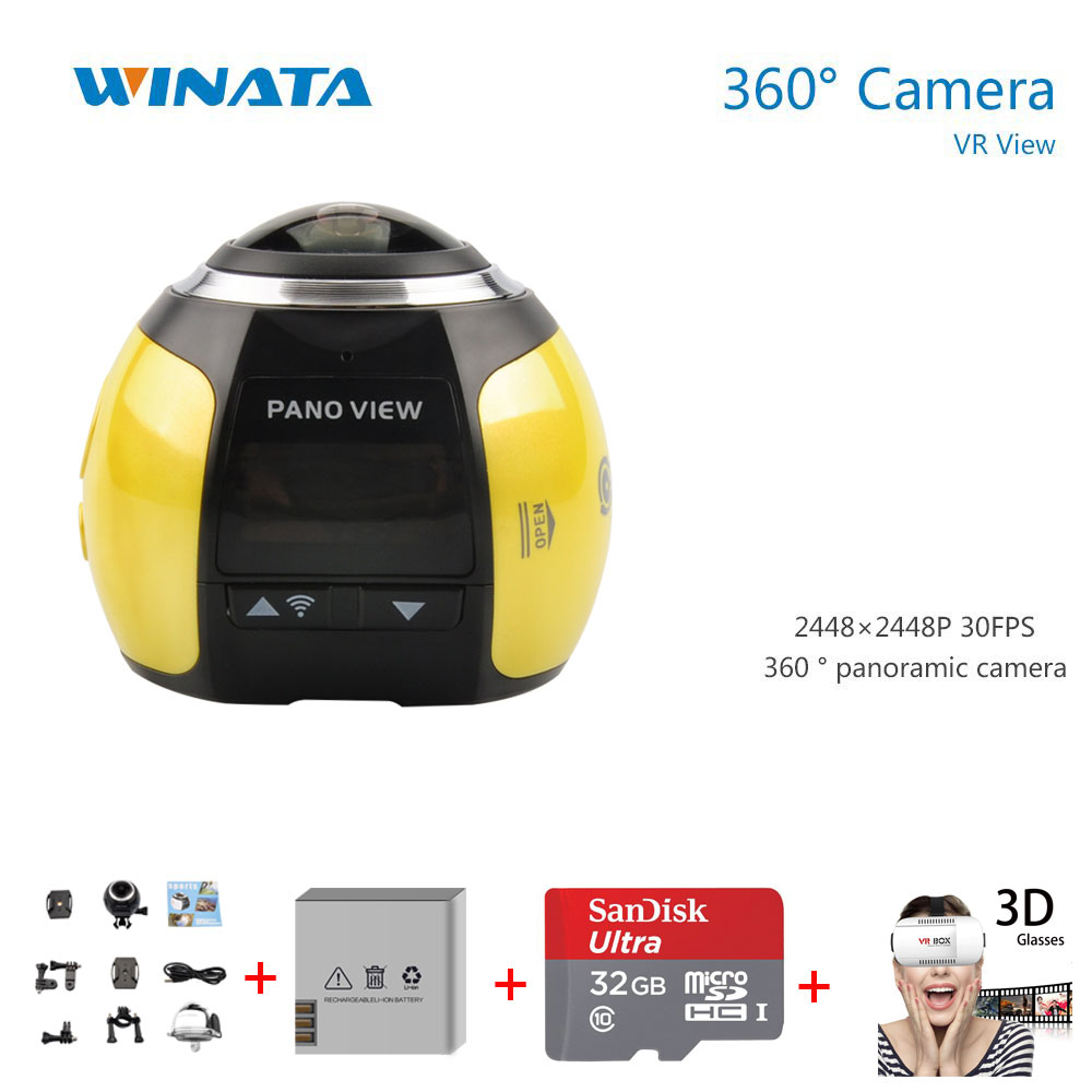 360 Camera 4k 360 Degree Sports DV