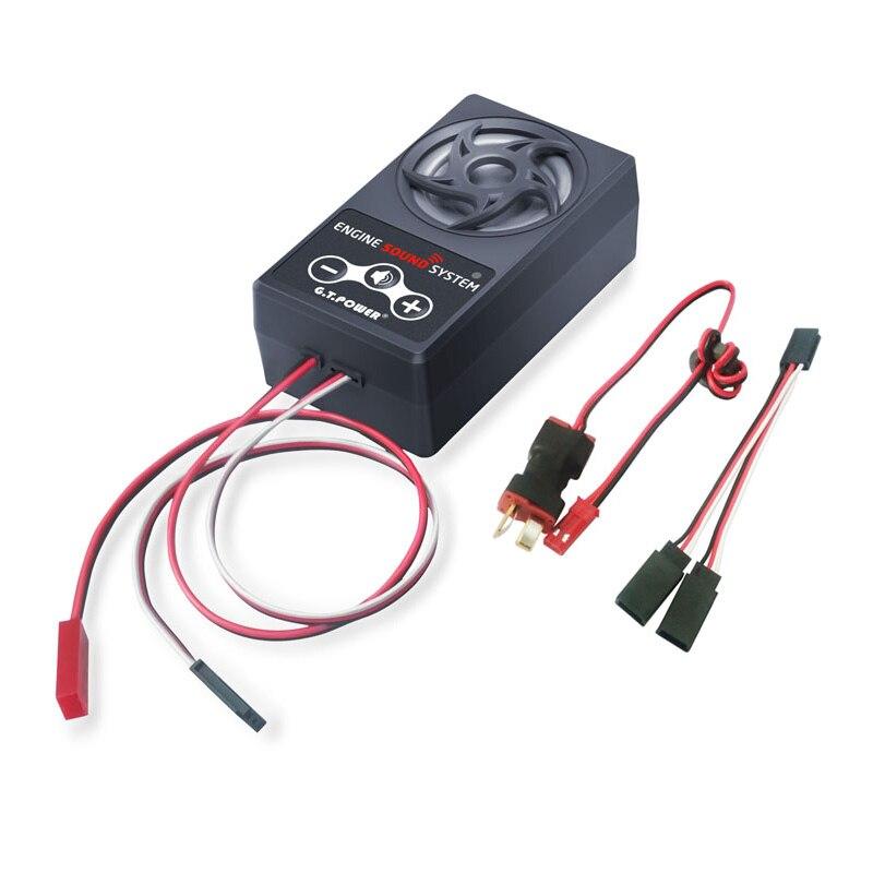 G.T. Мощность двигателя звук имитация системы для RC автомобилей осевой SCX 10 II призрак Traxxas TRX4
