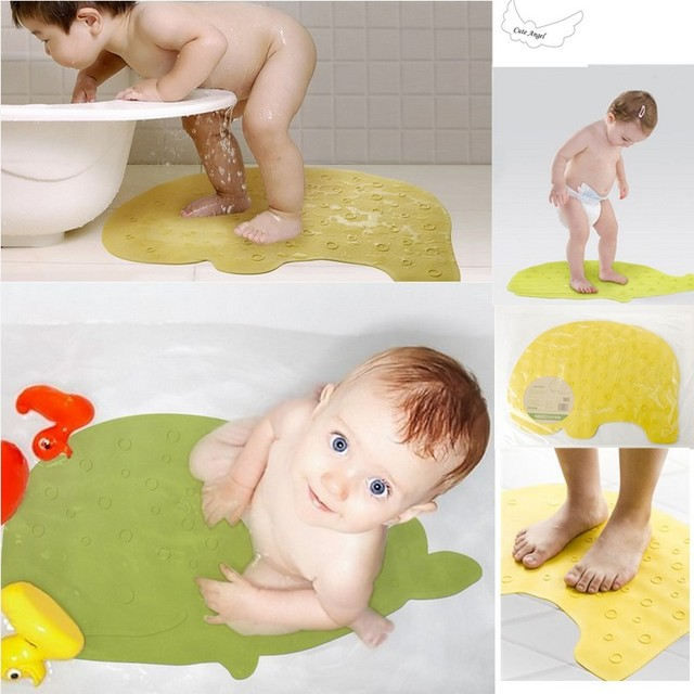 2017 HOT sale Baby Bath Mat Non Slip Animal Shape 57*40 cm Rubber ...
