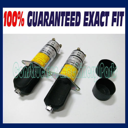 Free fast delivery! (2pcs a lot) Engine Stop Shutdown Solenoid Valve WOODWARD 307-2546-12V 1504-12A6U1B1S2 3924450 2001es 12 fuel shutdown solenoid valve for cummins hitachi