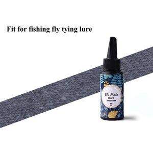 Image 3 - Uvクリア仕上げのりコンボ薄型 & 厚いインスタント硬化スーパークリアuv接着フライイング速乾性接着剤フライ釣り化学