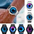 Reloj de cuarzo deportivo Marca SINOBI reloj de pulsera de acero inoxidable para hombre