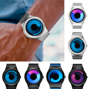Image 1 - SINOBI ยี่ห้อ Creative กีฬานาฬิกาควอตซ์ผู้ชายสแตนเลสสตีลเวลานาฬิกาหมุนนาฬิกา Relogio Masculino