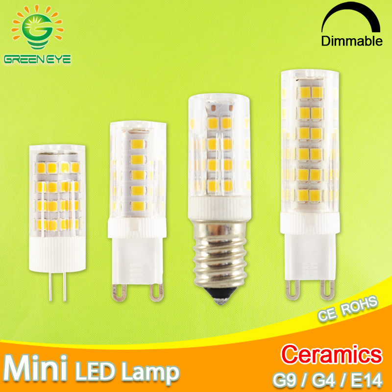 1x//10x G9 2835 SMD Dimmable 5W 8W 12W Transparent Capsule Bulb LED Light 220V