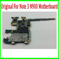 100% Original Unlocked for Samsung Galaxy Note 3 N900 Motherboard,Europe Version Unlocked Mainboard with Chips,Free Shipping