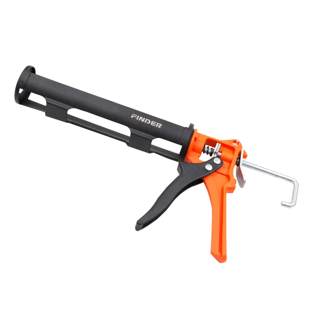 Standard Size Silicone Caulking Gun, Manual Cartridge Rod Cradle (Caulking Gun Only)