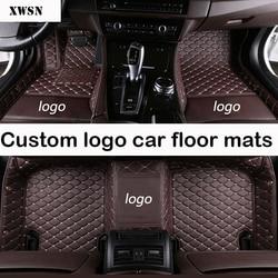 Custom logo auto vloermatten voor Haval Alle Modellen H1 H2 H3 H4 H5 H6 H7 H8 H9 M6 H2S h6coupe auto styling auto-accessoires automatten