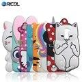 Стежка Case Для LG K10 Симпатичные Cat Soft Case For LG K10 М2 K420N K430DS/Q10 Кролик Минни Китти Собака Бутылка Лошадь Крышка