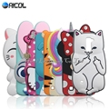 Stitch Case For LG K10 Cute Cat Soft Case For LG K10 M2 K420N K430DS / Q10 Rabbit Minnie Kitty Dog Bottle Horse Cover