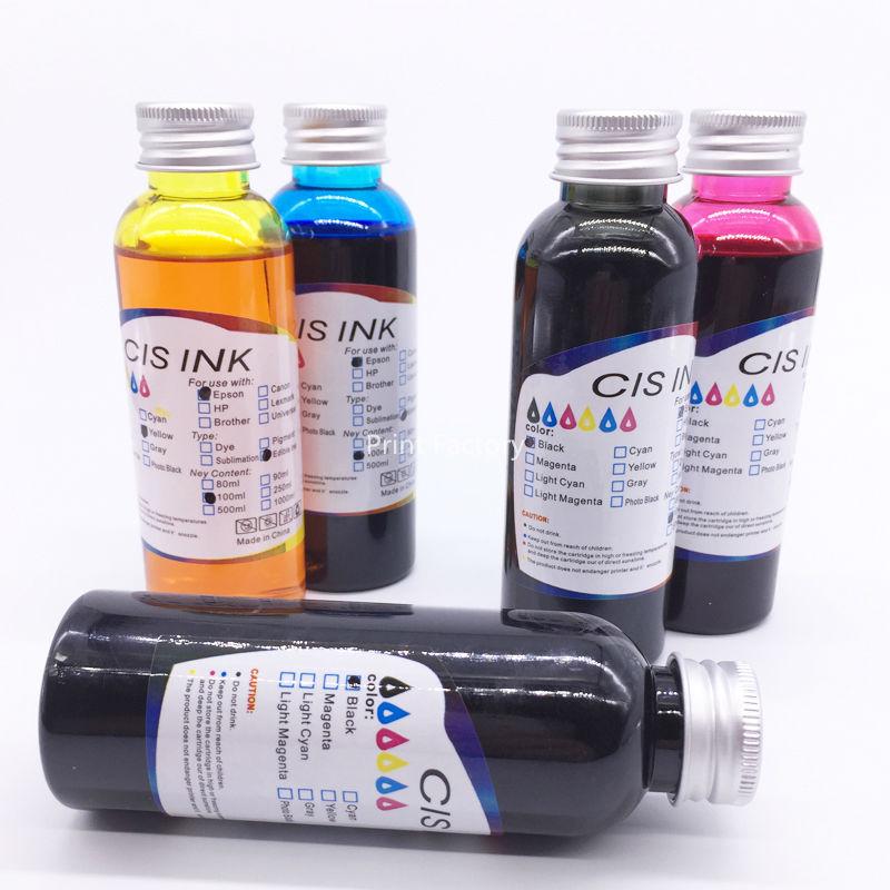 Prix pour 5 pcs pgi-750 cli-751/pgi750 cli751 encre comestible pour canon ip7270 mg5470 mx727 mx927 mg6470 mg5570 ix6770 mg6670 mg7570 ix6870