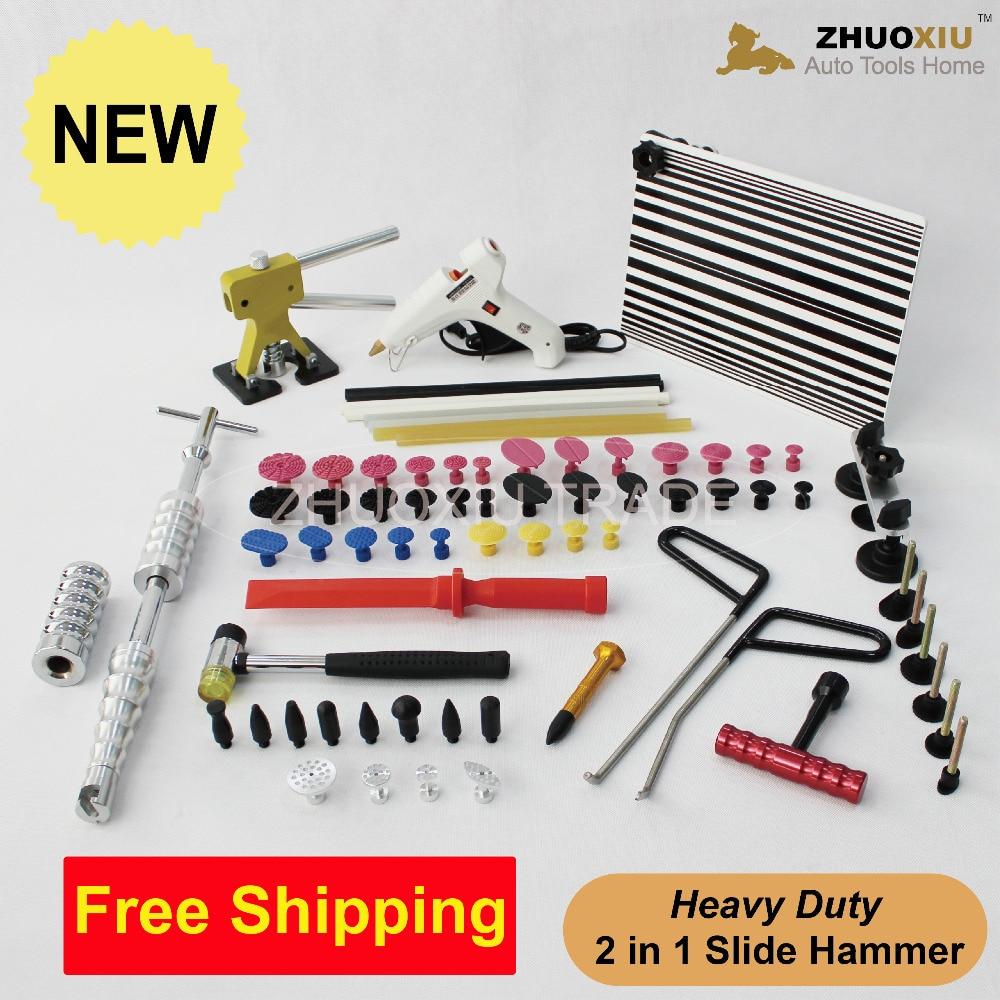 Car Body Repair font b Tool b font Kit Puller Slide Hammer Paintless Dent Removal Repair