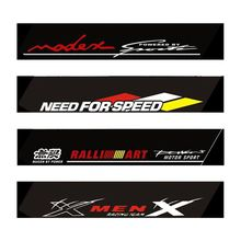 Car Stickers 130x21cm Reflective Decoration Decals Car Styling fashion Front Rear Windshield Decal Sticker Auto decals Removable 3 pieces speedometer tachometer rear windshield reflective car rear window decoration speedometer sport cool car sticker