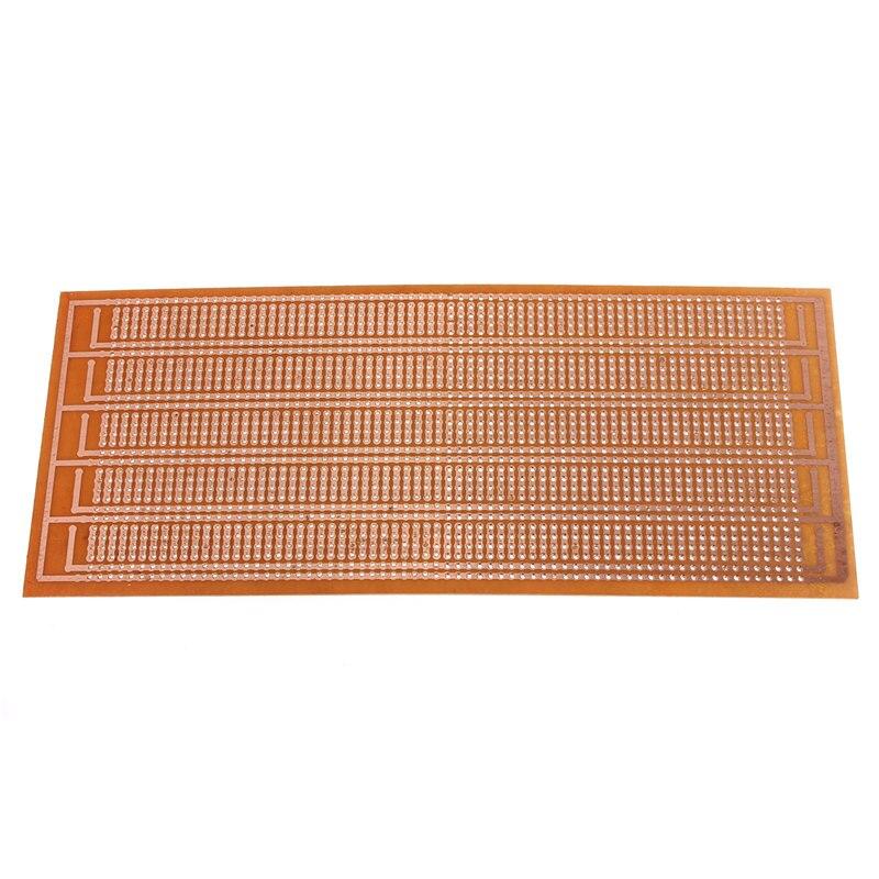 Hot Sale New Electric Unit 8.5x20cm DIY PCB Prototype Printed Circuit Board Matrix Stripboard Universal| |   - AliExpress