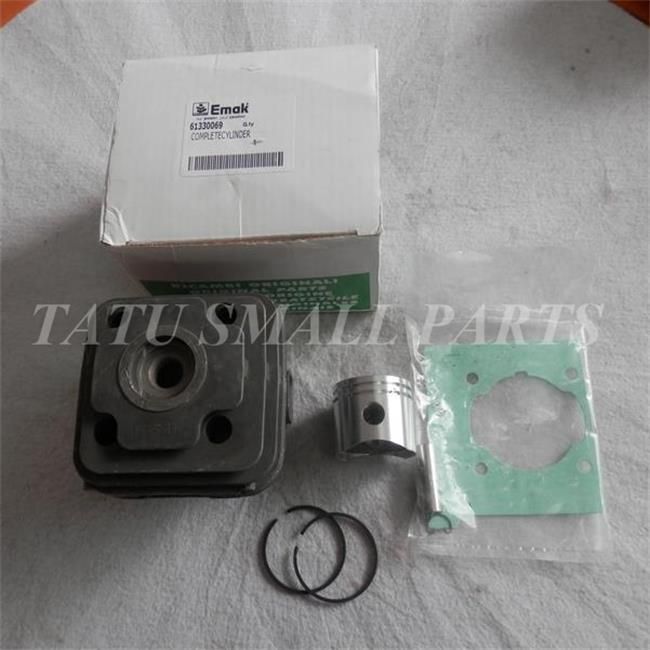 GENUINE COMPLETE CYLINDER ASSY 38MM FOR OLEO MAC OM 36 37 38 EFCO EF3600 3500 3800 ZYLINDER KIT PISTON RINGS PIN CLIPS ASSEMBLY 50mm piston kit for atlas copco cobra tt cylinder assembly 2 stroke tamper breaker kolben ring pin clips assy parts