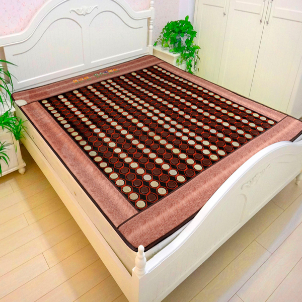 Free Shipping Good Quality Tourmaline Mat Jade font b Beauty b font Mattress font b Health