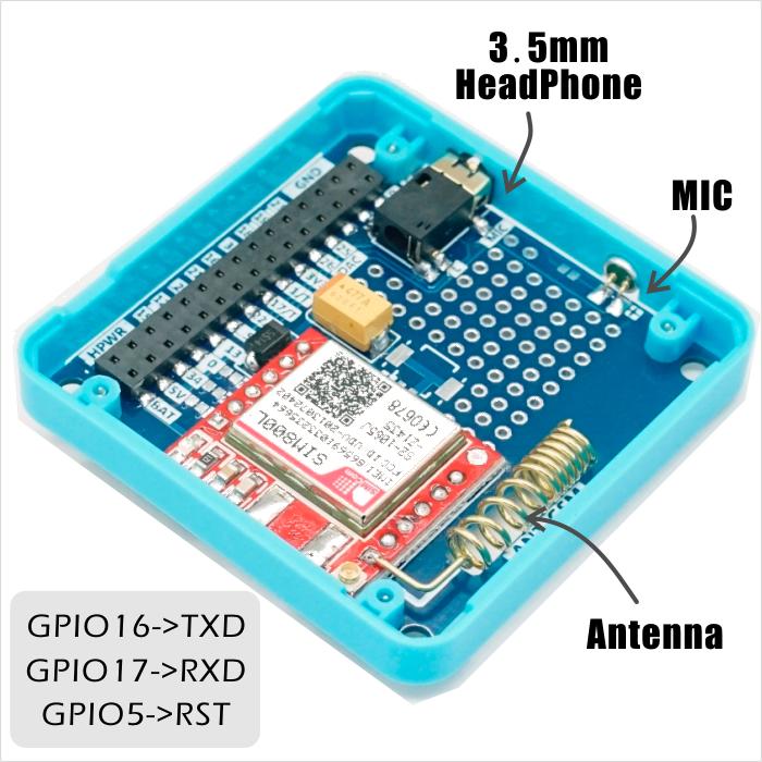 M5Stack GSM SIM800L Stackable IoT Development Board For Arduino ESP32