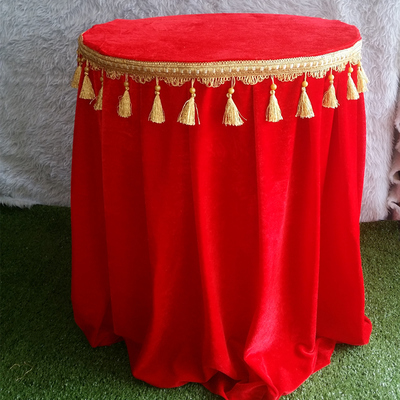 Spandex Velvet 1.5m Diameter Red Round Table Cover Table Cloth In  Tablecloths From Home U0026 Garden On Aliexpress.com | Alibaba Group
