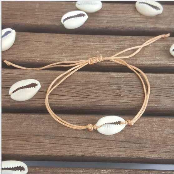 1pc Hot sprzedaż moda hurtownie paua oryginalna bransoletka z muszli morskiej cowrie w regulowanej 8461