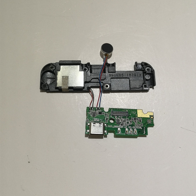 Original New For Ulefone Power 3 3s Inside Parts Loud Speaker Inner Buzzer Ringer + Usb Board+MIC Replacement Accessories