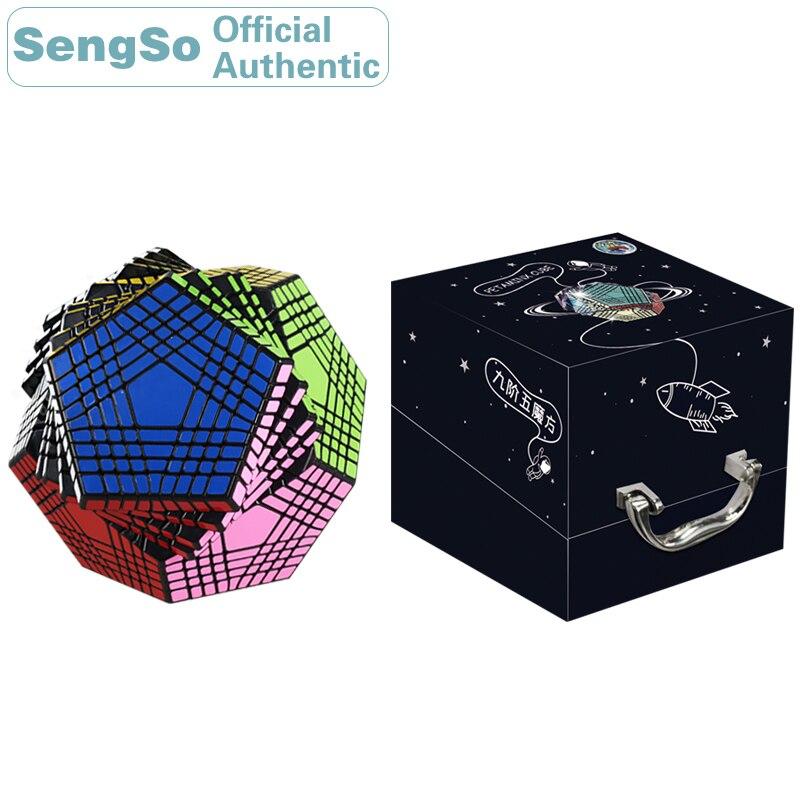 ShengShou Megaminxeds 9x9x9 Cube magique Petaminxeds 9x9 Cubo Magico professionnel néo vitesse Cube Puzzle Antistress Fidget jouets enfant