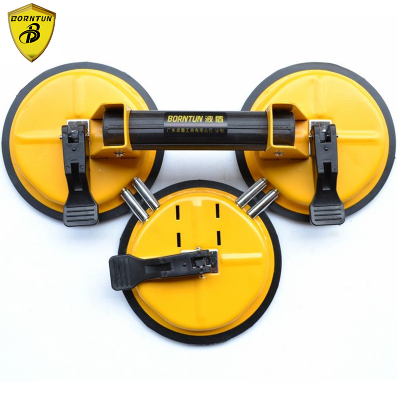 цены Borntun Glass Car Sucker Suction Sucking Plate Cup Cups Pads Glass-sucker Pulling Remover Lifting Glass Marble Car Housing Stone
