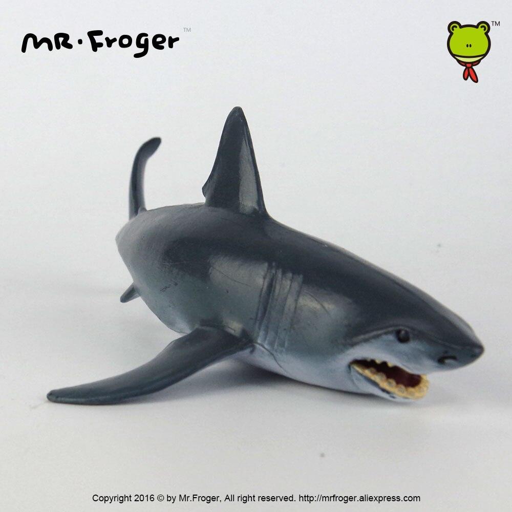 aliexpress com buy mr froger shark model toys jaws simulation