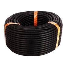 100 фута 1/4 дюйма разделенная проволока ткацкий станок трубопровод полиэтиленовый шланг черный цвет рукав трубки