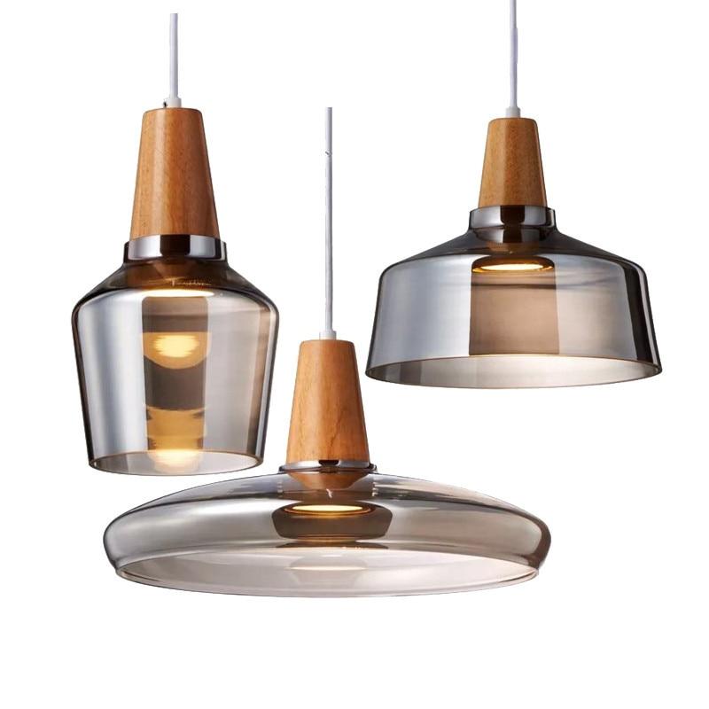 Modern Led Gl Pendant Light Fixture