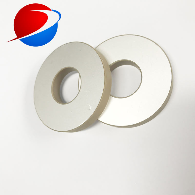 Piezo Ceramic Transducer Ring 50*17*6.5mm PZT8 Piezoceramic Ring