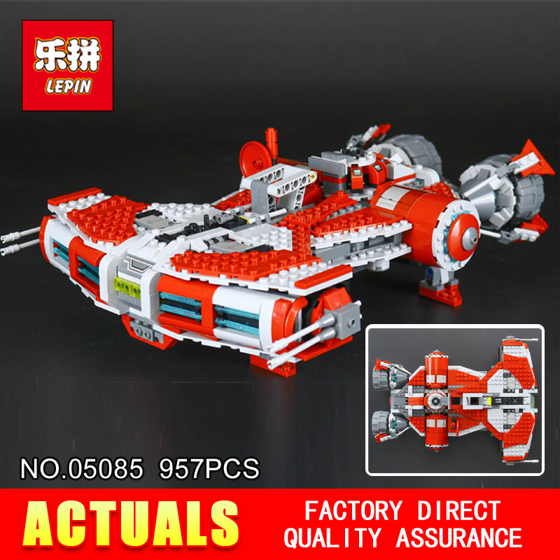 Free shipping LEPIN 05085 Star Classic toy Wars 957Pcs Stunning children Educational Building Blocks Bricks ToysModel Gift 75025 building blocks stick diy lepin toy plastic intelligence magic sticks toy creativity educational learningtoys for children gift