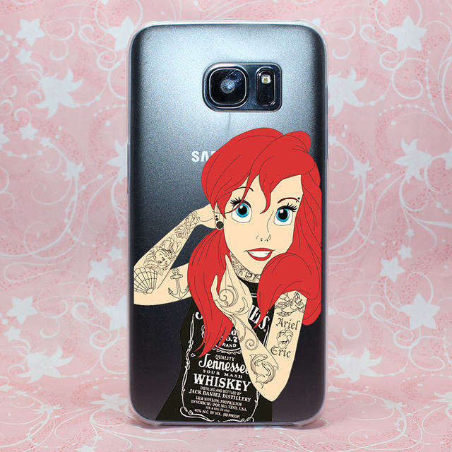 Online Shop Anime Girl Princess Beauty Design Hard Transparent Case