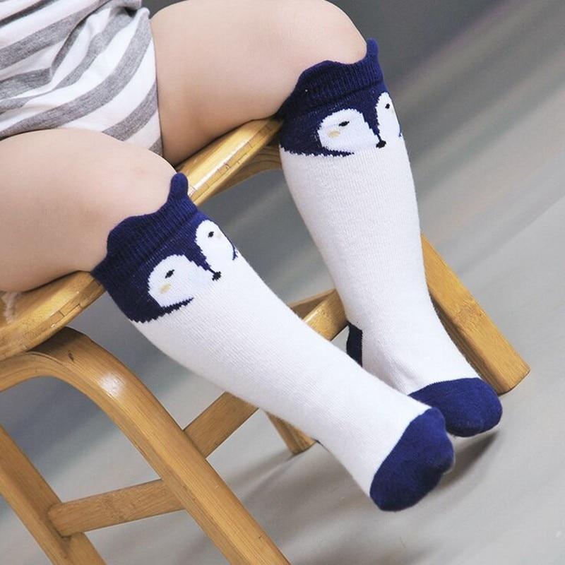 Fox-Design-3-Colors-Cotton-Knee-Baby-Socks-Winter-Fall-Cute-Boys-Girls-Socks-3