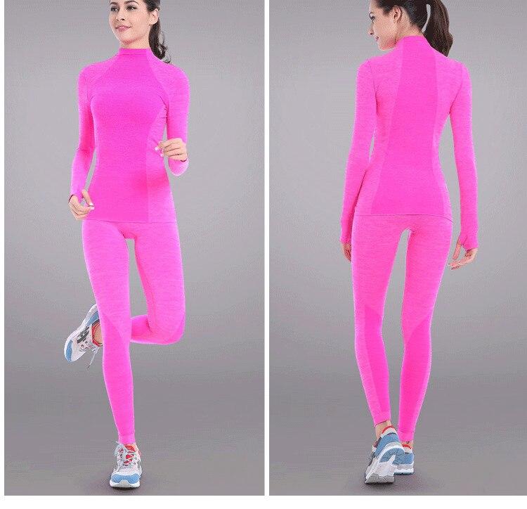 2017 New Girls Body Shaper Cute Yoga Pants Sports Running Tights Full Length Pant -4776