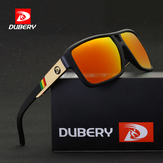 68078c8cf6 DUBERY Polarized Sunglasses Men s Aviation Driver Shades Male Sun Glasses  For Men Original 2017 Luxury Brand Designer Oculos