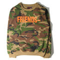 Fashion Men's Jumper Sweatshirts Hip-hop skateboard VLONE Friends Hoodies Sweatshirts