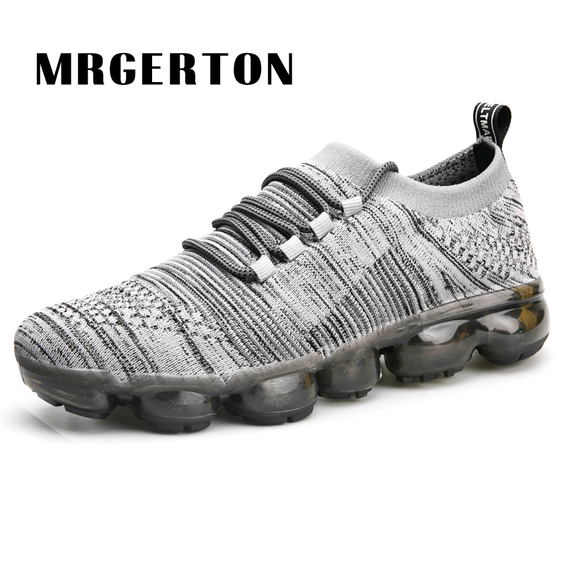 Brand Men Running Shoes Breathable Walking Jogging Trainners Sneakers Sport Shoes Brand M080301 apple brand men breathable air mesh running shoes weaving outdoor athletic zapatillas sport jogging sneakers walking shoes