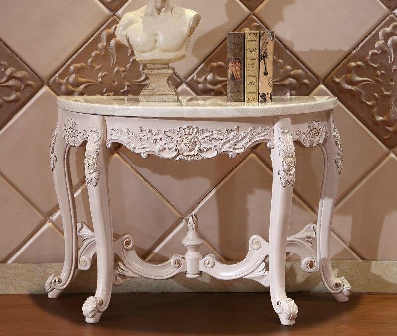 Console d'entrée en bois massif Design de luxe meubles de Table sala vintage armario salon cassettiera meuble rangement