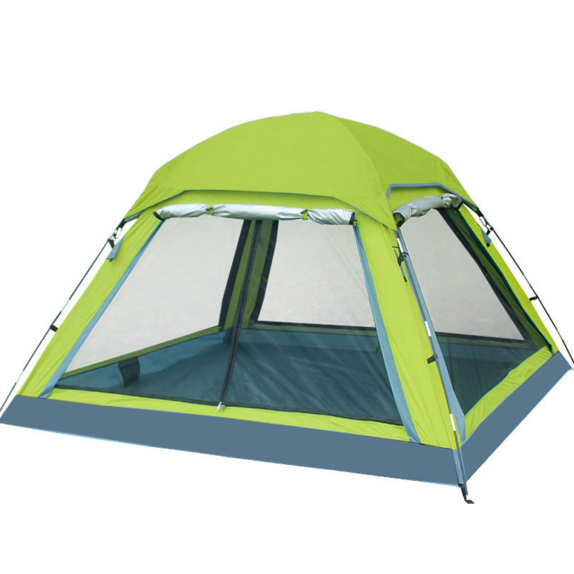 4 Season Tent for Camping 3-4 Person Camping Tent, Ultralight Waterproof 190T Polyester Fabric Double-layer Outdoor Camping Tent good quality outdoor camping tent ultralight gazebo summer sun shelter awning tent winter tents double layer 2 person 4 season