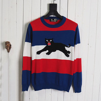 DUYOU New Luxury Designer Men casual striped sweater men brand clothing Pullover men fashion sweaters for men DY611201