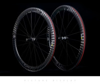 12K Twill Wheel Carbono Road Bike Wheels 25mm Width 50mm Depth Tubular Clincher Carbon Bicycle Wheels