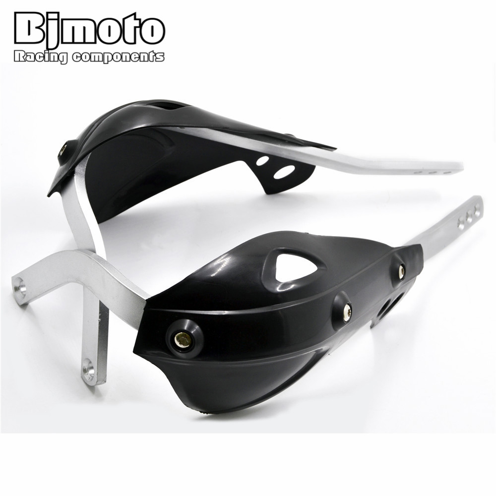 Motocross Hand guards 7/8 22mm Handlebar Guard Handguard for Motorcycle Dirt Bike Pit bike ATV Quads For Yamaha Suzuki KTM ATV atv motorcycle wind shield handle hand guards motocross transparent handguards for honda cbf600 sa cbf1000 a cb1100 gio nc750