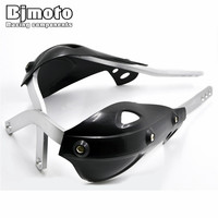 BJ HG 011 Black Color Plastic And Aluminum Handguards Hand Guards Guard ATV Accessories For Motorcycle