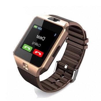 Reloj inteligente DZ09 SIM/TF Bluetooth para Apple/Android Teléfono Inteligente Iphone/samsung Huawei PK U8 GT08 reloj de pulsera