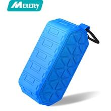 Melery Camping Outdoor Wireless Bluetooth Speaker Bluetooth 4.2 Military Power Dual Speaker Waterproof IP66 and Shockproof