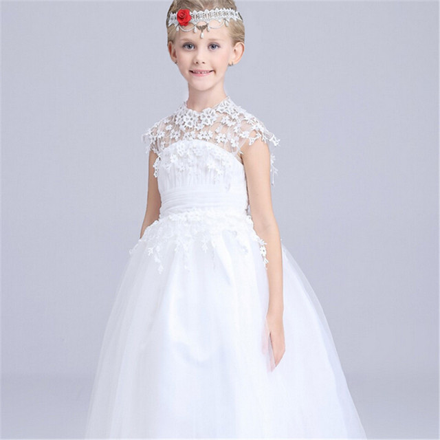 Classic Luxurious Dress Aurora Princess Kids Baby Girls Wedding Elsa Anna Party Performance