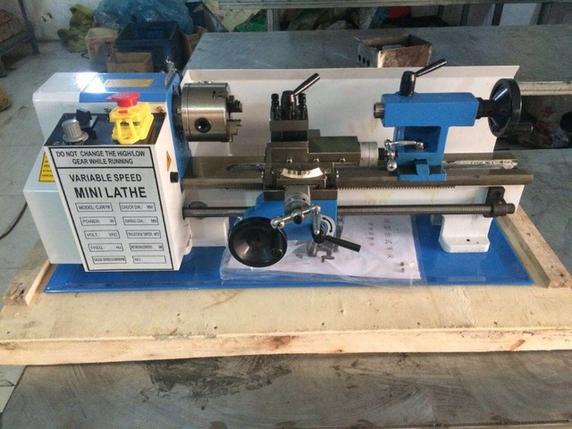 high precision mini lathe 618x350mm variable speed lathe / small parallel  lathe /horizontal lathe with big discount high quality