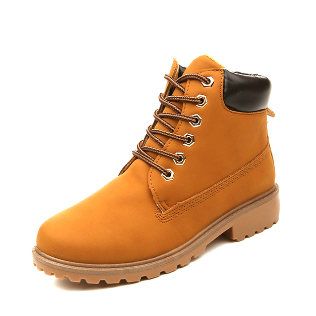 New 2016 Sales Snow Boots Men&Female Ankle Boots Casual Warm Martin Boots Cheap Timber Boots Outdoor Big size Men Lovers Sapatos