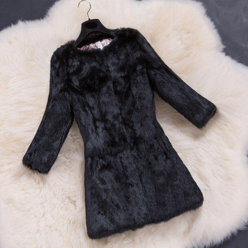 3 Taille Lapin Manteau lilac Bean reddish Manteaux grass 6xl black Femmes brown Plus Survêtement Mode Fourrure 4 white Manches Et Peau La Réel Purple Toute De Vestes pTWYvHqx